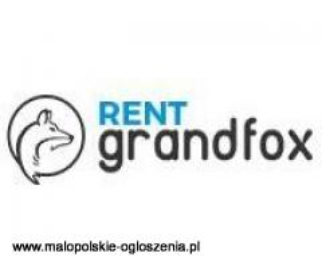 RentGrandfox.pl | Wypożyczalnia Sprzętu Filmowego z Krakowa