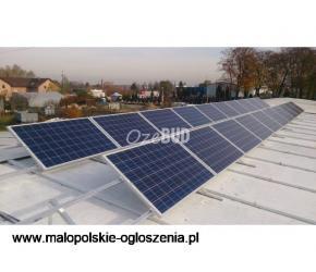 OzeBUD instalacje fotowoltaiczne, produkuj własną energię elektryczną