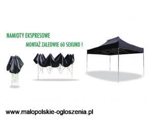 namiot handlowy ekspresowy 3x3x