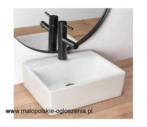 Stylowe umywalki łazienkowe ścienne - więcej na Łazienka-Rea.com.pl