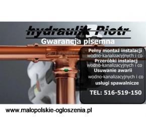 Hydraulik,karków,instalacje,wodne,co.naprawy,awarie,montaż,podłogówki