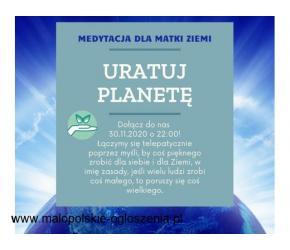 Pomóż uratować Ziemię