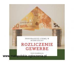 Rozliczenie Gewerbe- niemieckiej działalności