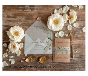 Decoris.pl - Zaproszenia ślubne