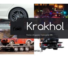 KrakHol - pomoc drogowa Mogilany, Głogoczów i okolice