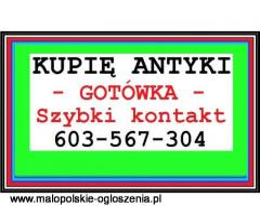 PŁACĘ GOTÓWKĄ za ANTYKI / STAROCIE - kupuje różności - SZYBKI KONTAKT - 603 567 304