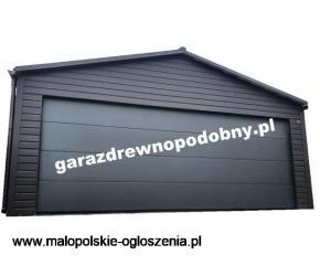 Garaż Blaszany Blaszak Garaże Blaszane Wiata 6x5