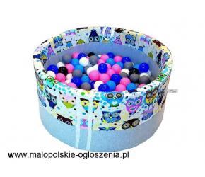 Suchy basen BabyBall z piłeczkami