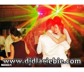 DJ na WESELE, imprezę z nagłośnieniem, oświetleniem, laserami, efektami