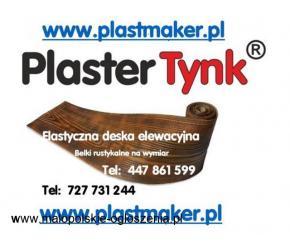 Iimitacja drewna na elewacje ,PlasterTynk - Elastyczne deski elewacyjne
