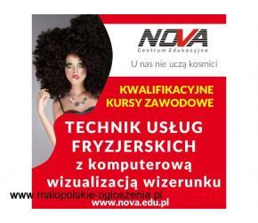 Technik usług fryzjerskich KRAKÓW NOVA CE