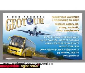 Bilety autobusowe oferuje Geotour!