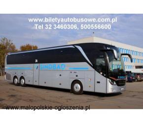 Bilety autobusowe z Krakowa