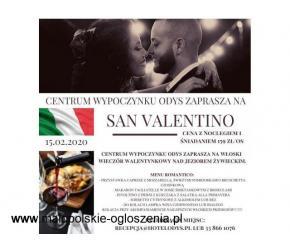 Włoski wieczór walentynkowy-San Valentino 15.02.2020