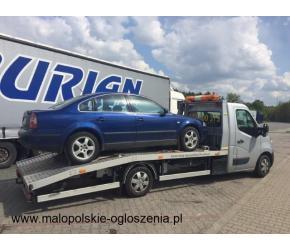 Transport aut samochodów z NIEMIEC pomoc drogowa laweta holowanie